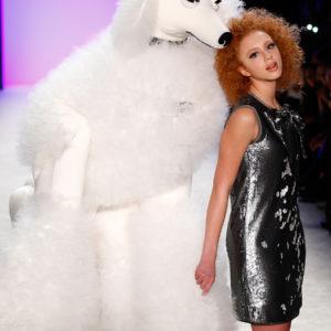 ANNA ERMAKOVA MODEL RUNWAY SHOW MBFW 2015