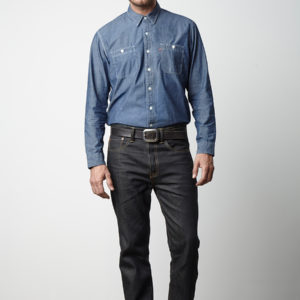 DIE ORIGINAL BLUE JEANS - LEVI'S 501 CUSTOMIZED & TAPERED