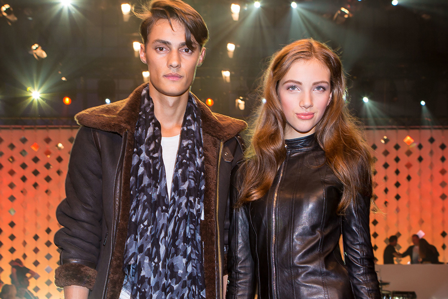 Raphael Hatt und Johanna Brendow gewann am Elite Model Look Switzerland 2014