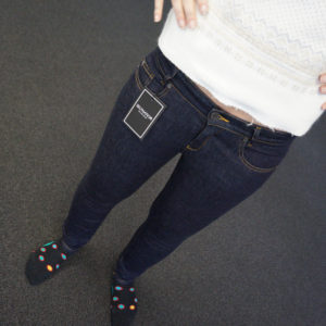 SELFNATION Massjeans blue