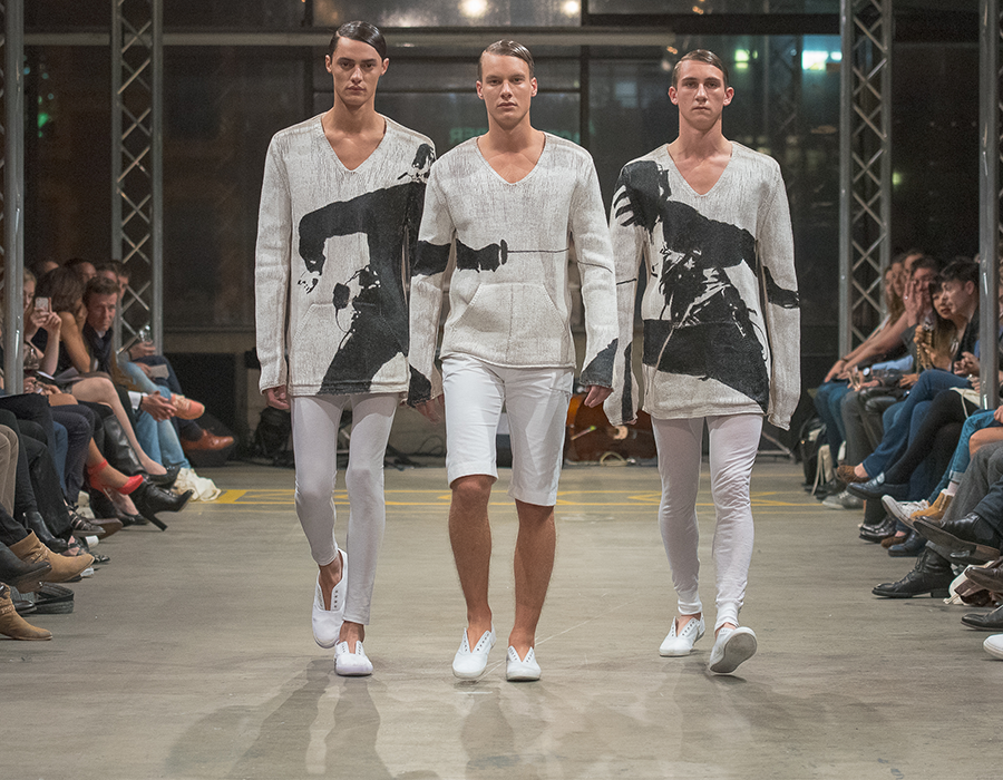 Adrian Reber gewinnt MB Prix Lily 2014 - Mode Suisse in Genf