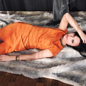 Andrea Sauter Schweizer Fashiondesignerin - Look 14 Dress