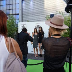 Audrey Bousquet (Siegerin 2013) an der Elite Model Look Switzerland 2014