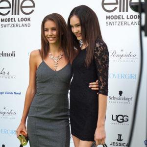 Audrey Bousquet an der Elite Model Look Switzerland 2014