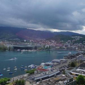 Aussicht Luzern Hotel Montana
