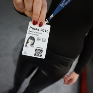 Baselworld 2015 - Presse Ausweis