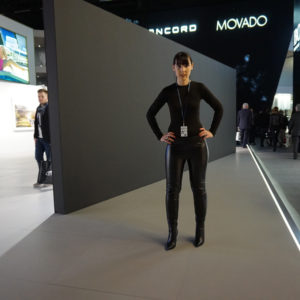 Baselworld 2015 - Wolford Fashion Outfit
