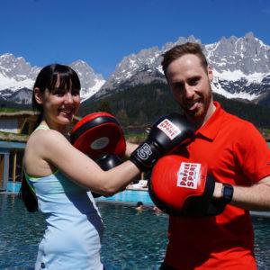Björn Schulz Boxen - Testbericht im Stanglwirt Bio- und Wellnesshotel in Tirol
