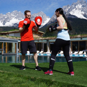Boxsport im Stanglwirt Bio- und Wellnesshotel in Tirol