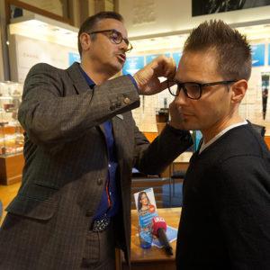 Brille korrigieren - Testbericht Optiker VISILAB Brillen in Zürich