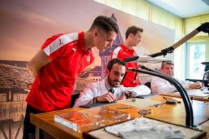 Carl F. Bucherer – Official Timekeeper des Schweizer Fussball-Nationalteams - CFB