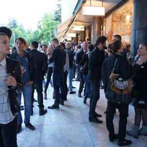 Eröffnung von heroes & flames in Zürich