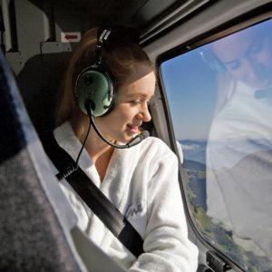 Gewinne ein Duscherlebnis von Kneipp - im Helikopter zur Dusche