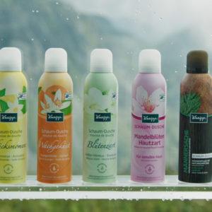 Gewinne ein Duscherlebnis von Kneipp - Schaum-Dusche
