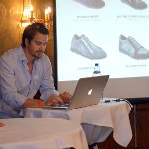 Eric Braunschweiler - GnL Footwear Schuhe mit 360°-Dämpfung