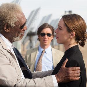Freeman, Murphy und Rebecca Hall - Verlosung: Bluray «Transcendence» zu gewinnen