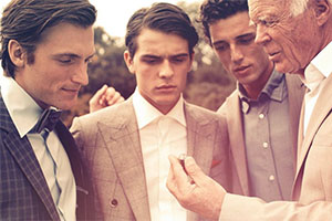 Kampagnenbild MEISTER Men's Collection