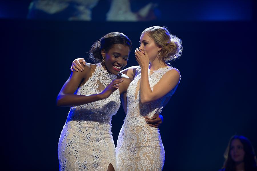 Gaby Fondja und Corinne Schädler Miss Earth Schweiz 2015