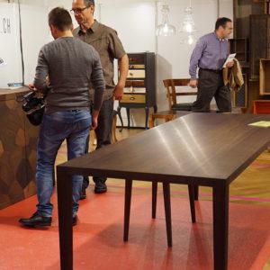 Heinz Baumann Heerbrugg blickfang Designmesse