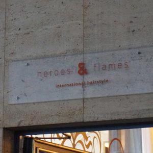 heroes & flames Internationale Hairstyle