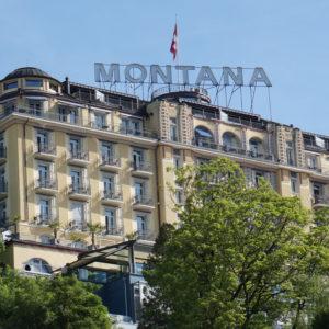 Hotel Artdeco Montana Luzern - aussen Ansicht