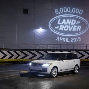 Jubiläumsauto Range Rover 2015 mit langem Radstand