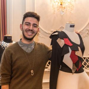 Jungdesigner Rami Shalati Les Diamonds d'Haute Couture in Luzern