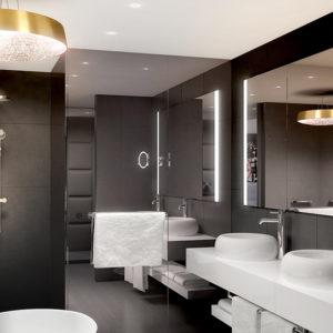 KAMEHA GRAND Zürich Bad mit Dusche