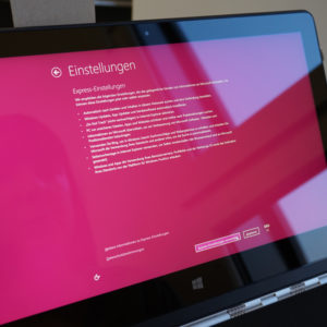 Lenovo Yoga 3 Pro Pink Windows