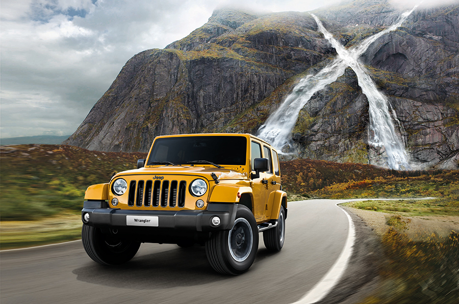 Limitierter Jeep Wrangler X - Sondermodell 2015