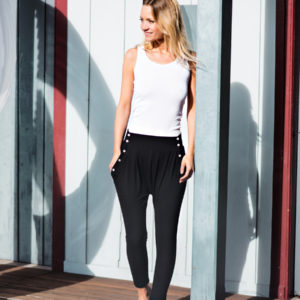 Lola | Fred Bellini Pants Tanja Riptank - fashionpaper