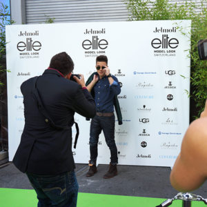 Luca Hänni an der Elite Model Look Switzerland 2014