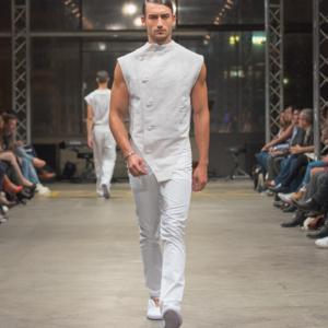 Mode Suisse 2014 Adrian Reber in Genf