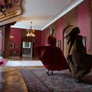 Modeschau – Les Diamants d`Haute Couture in der Villa St.Charles Hall Meggen