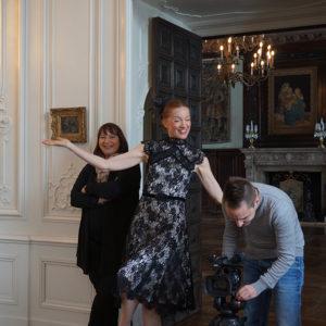 Modeschau – Les Diamants d`Haute Couture Milena Bendáková