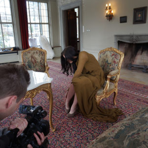 Modeschau – Les Diamants d`Haute Couture Video Dreh