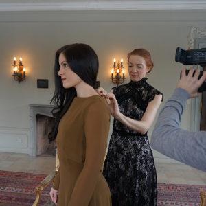 Modeschau – Les Diamants d`Haute Couture Vorbereitungen