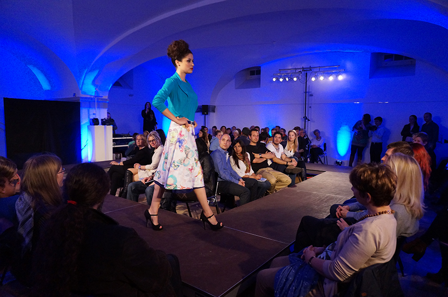 Modeschau Meilen Fashion Night 2014 mit Schweizer Designer