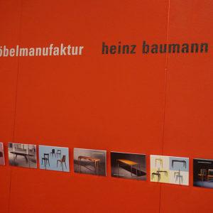Möbelmanufaktur Heinz Baumann blickfang Zürich