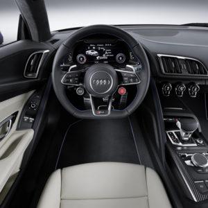 Neue Audi R8 Interieur: Sportliche Speerspitze noch schärfer