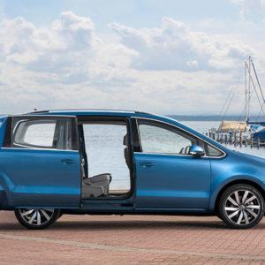 Neuer Sharan 2015 startet mit neuen Motoren - Türen