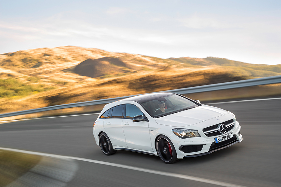 Neuer CLA Mercedes-Benz Shooting