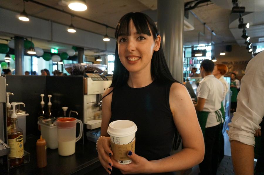 Neuer Starbucks in Winterthur eröffnet heute Caramel-Macchiato