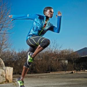 Nikeata Thompson - Reebok ZPump Fusion - ein Laufschuh, der sich dem Fuss anpasst