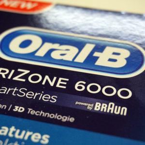 Oral-B Trizone 6000 Zahnbürste Bluetooth®-Technologie