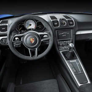 Porsche Schweiz verkauft Porsche Cayman GT4 für CHF 104'700 - Innenraum