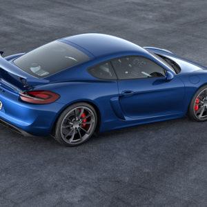 Porsche Cayman GT4 Blau für CHF 104'700