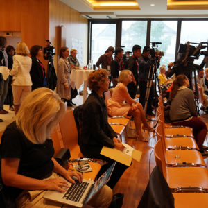 Pressekonferenz Montblanc & Salzburg Festival Young Directors Project 2014