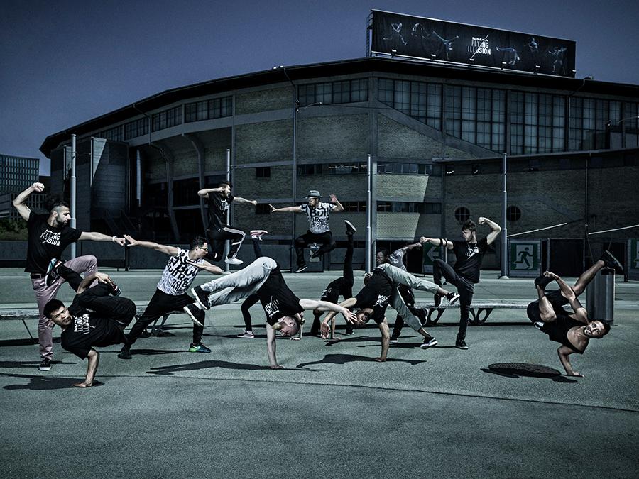 Red Bull Flying Illusion - Spektakuläre Breakdance-Show ausverkauft