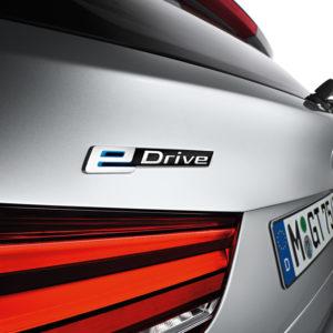 Rücklicht - BMW X5 xDrive40e - das erste Plug-in-Hybrid-Serienautomobil